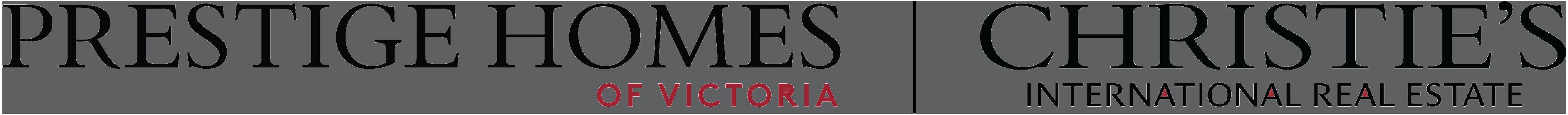 Prestige homes of victoria logo