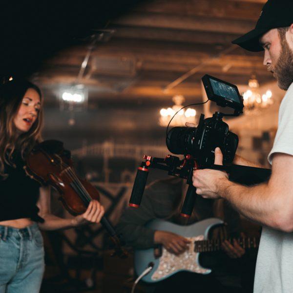 Music video shoot By Upload Media Solution Sydney