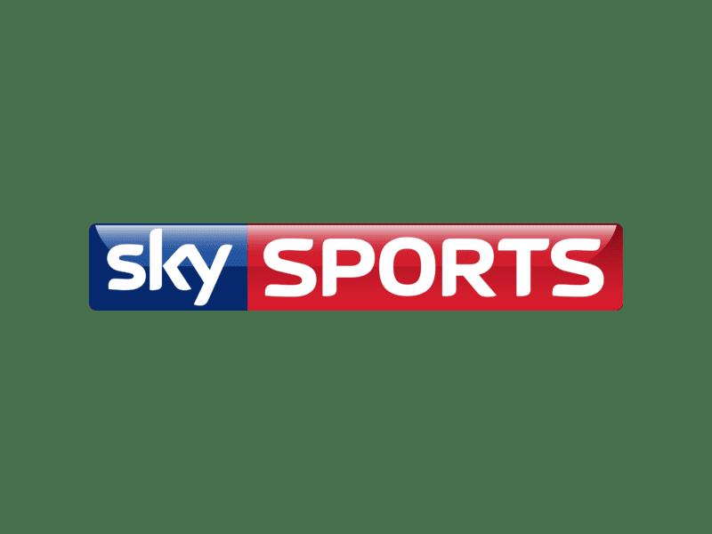 Transparent sky sports logo